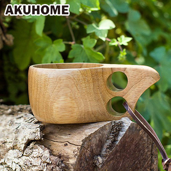 Finland Kuksa Portable Coffee Mug