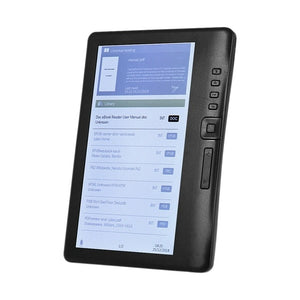 LCD 7 Inch Ebook Reader Color Sn Smart with HD Resolution Digital E-Book Video MP3 Music Player