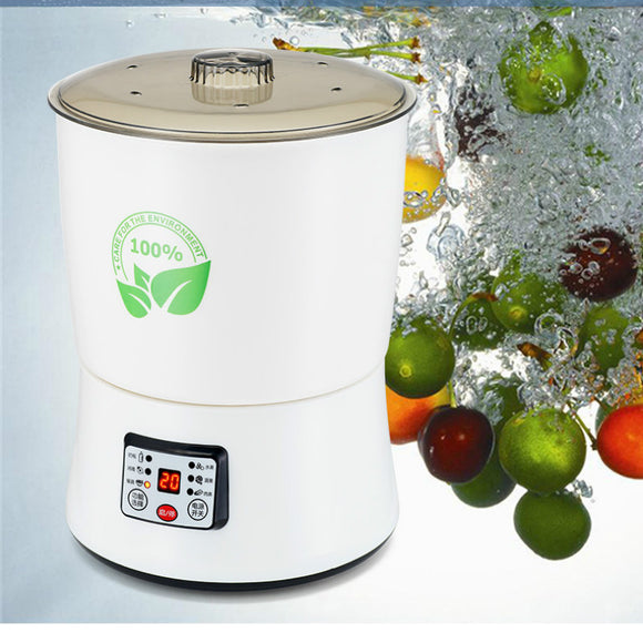 Household fruit and vegetable and meat washing machine  tableware disinfection ozone purification food machine 8L