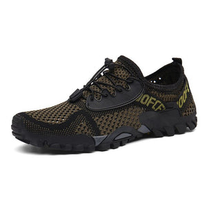 Upstream  Men Outdoor Breathable Barefoot Diving Swimming Shoes
