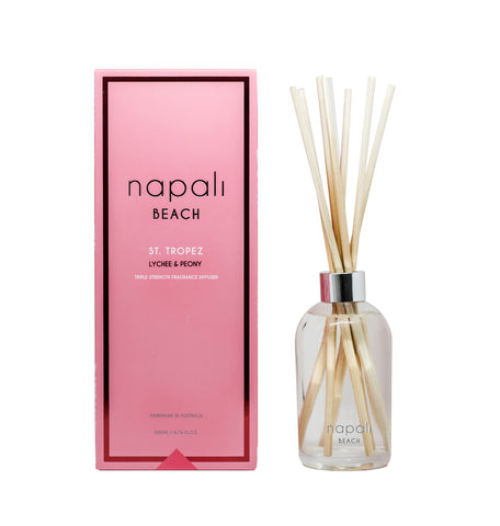 Beach - St. Tropez Lychee & Peony Reed Diffuser