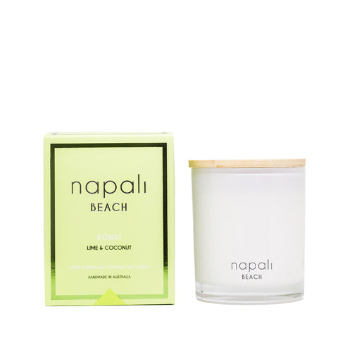 Beach - Bondi Lime & Coconut Small & Deluxe Maison Jar