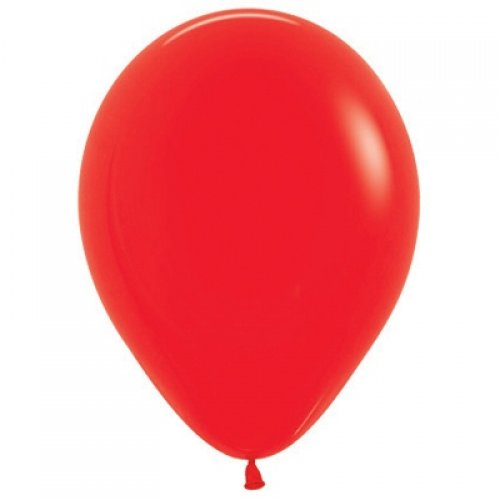 Red 30cm Coloured Balloons