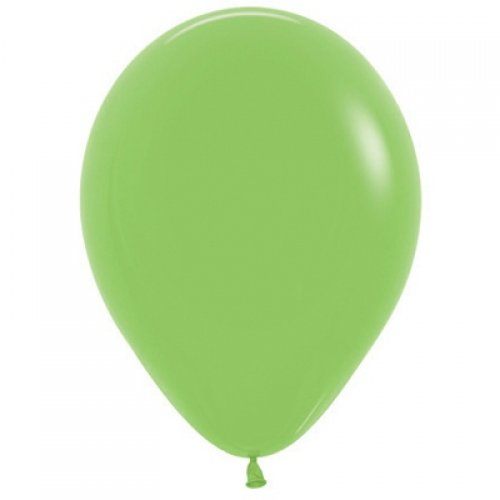 Lime Green 30cm Colored Balloons