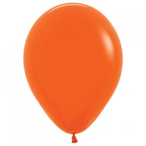 Orange 30cm Colored Balloons
