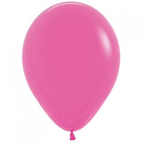 Fuchsia 30cm Colored Balloons