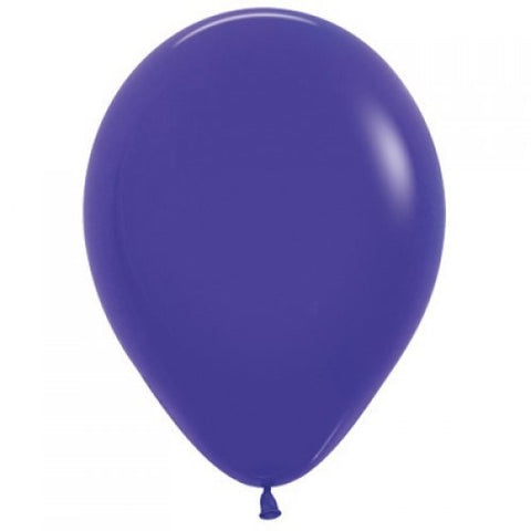 Violet 30cm Colored Balloons