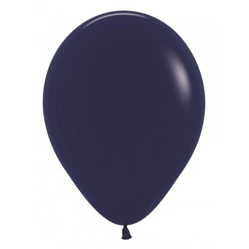 Navy Blue 30cm Colored Balloons