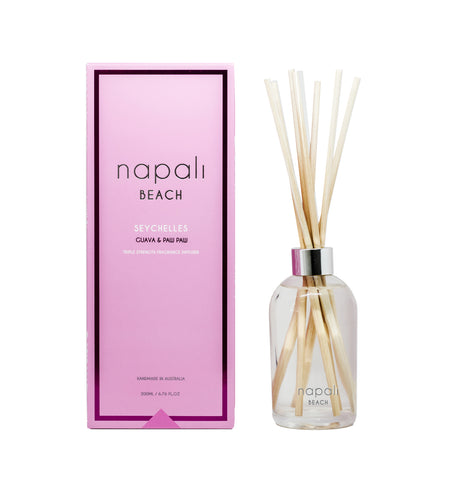 Beach - Seychelles Guava & Paw Paw Reed Diffuser