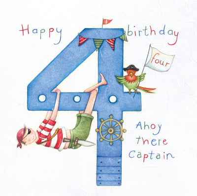 Age 4 Ahoy There Captain