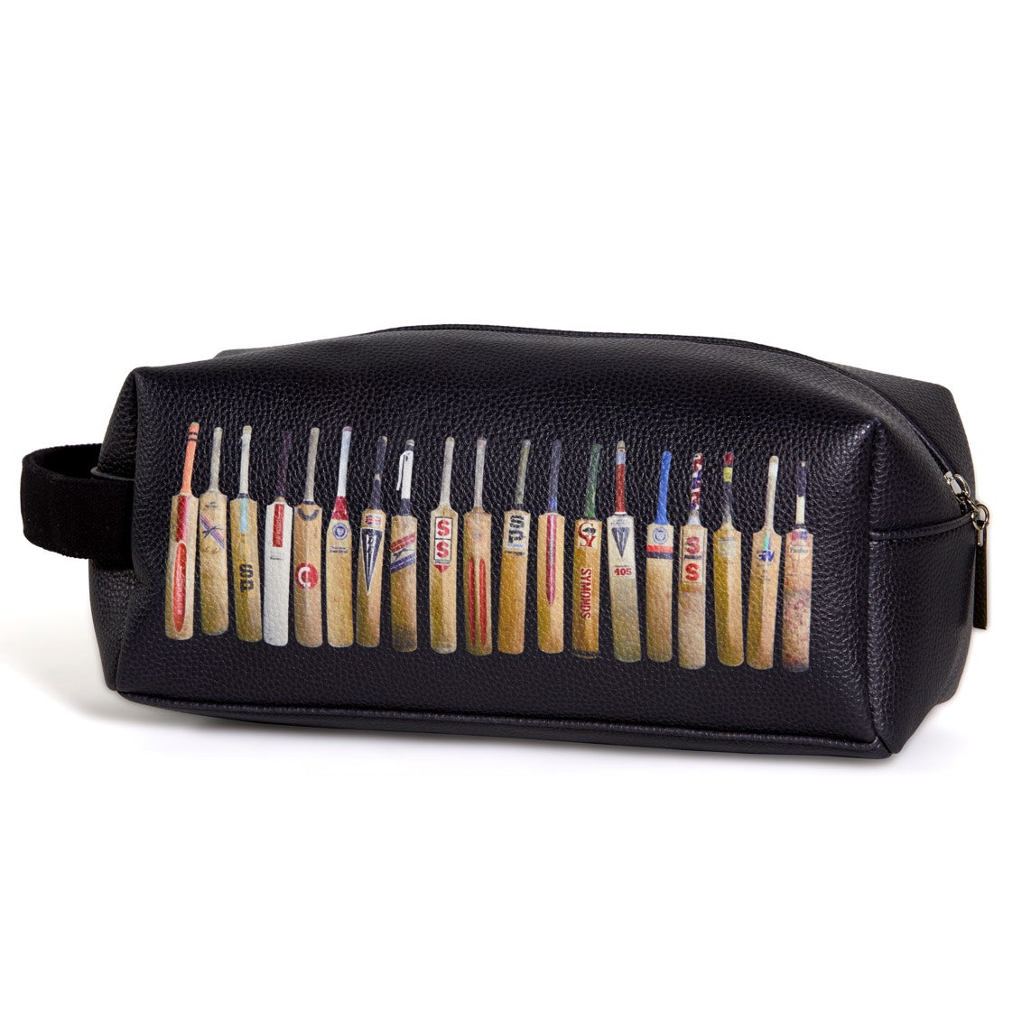 Black Bat Line Up Wash Bag