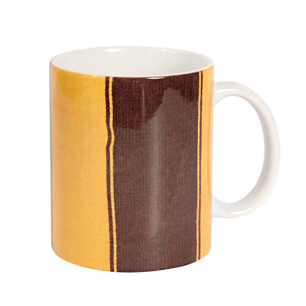 Striped Football Jumpers (Various) Coffee Mug
