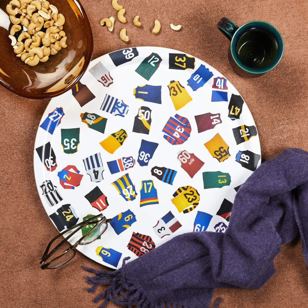 Fabric of Football Vintage Jumpers Tray