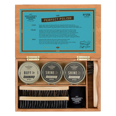 Shoe Shine Cigar Box