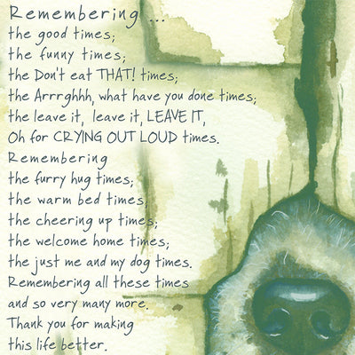 Remembering Dog