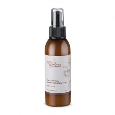 Room Scent Rose Geranium, Grapefruit & Clary Sage