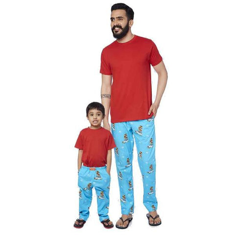 Cotton Rich Car Print Pyjamas Only