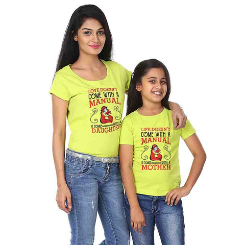 Life Comes With A Mother/Love Comes With A Daughter Tees