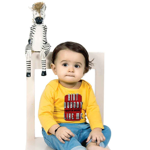 Aint Nobody Mom & Son Tees Bodysuit And Tees For Baby