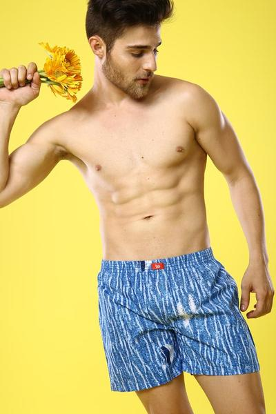 Blued To You , Similar Cotton Boxers For Men