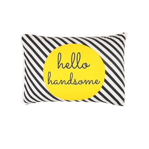 "Handsome And Gorgeous, Pillow Cover Set of 2 (19"" X 27"")"