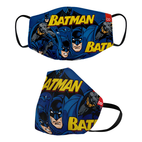 Batman Printed Protective Kids Masks ( Set Of 3)