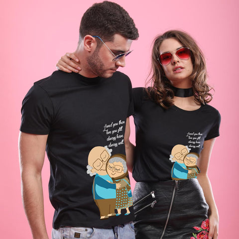 Love You Always, Matching Couples Tees