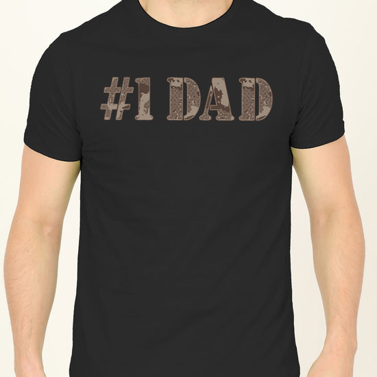 No 1 Dad And Daughter Matching Adult Tees