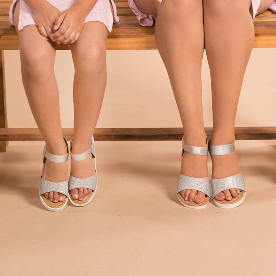 d51940b8efba Bling It On Matching Flatform Sandals For Mommy And Daughter ...