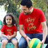 Happy Wali Diwali , Matching Tees For Dad And Daughter