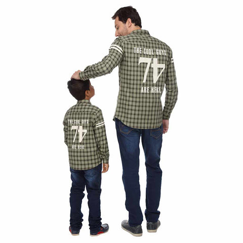 The Cool Guys Are Here Dad and Son Shirt