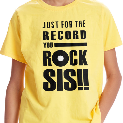 You Rock Combo Tees for Siblings