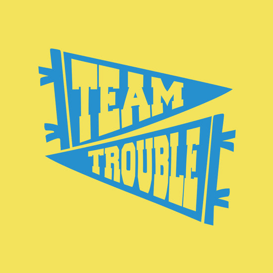 Team Trouble, Matching Tees For Siblings
