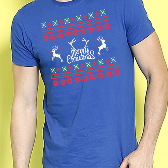 Joyful Christmas ,Single Tee For Men