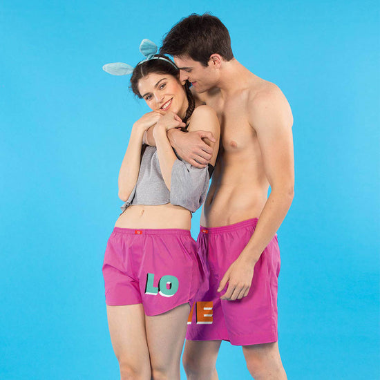 efede2e1c8 Matching Couple Boxers | Boxers For Men | Shorts For Women