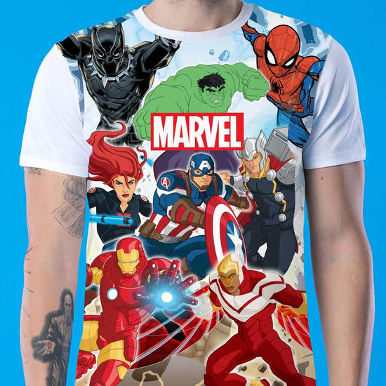 Superhero Gang, Marvel Tees For Men