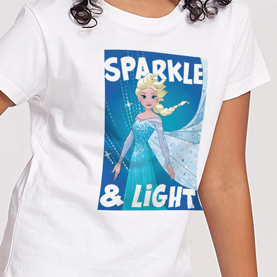 Sparkle And Light,Disney Tee For Girls