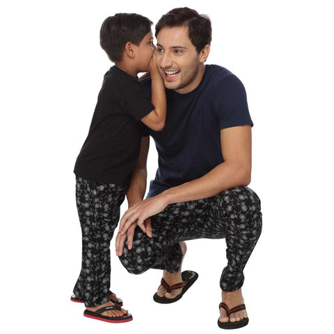 Bicycle Dad and Son Pyjamas