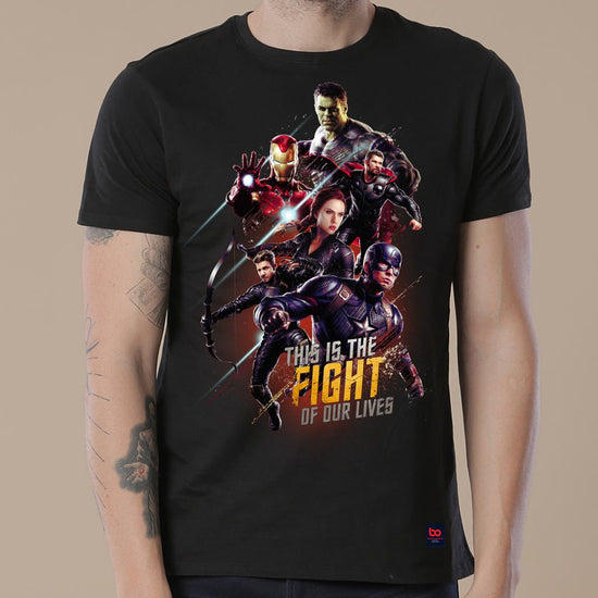Fight, Matching Marvel Tees For Dad And Son