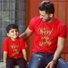 Happy Wali Diwali , Matching Tees For Dad And Son
