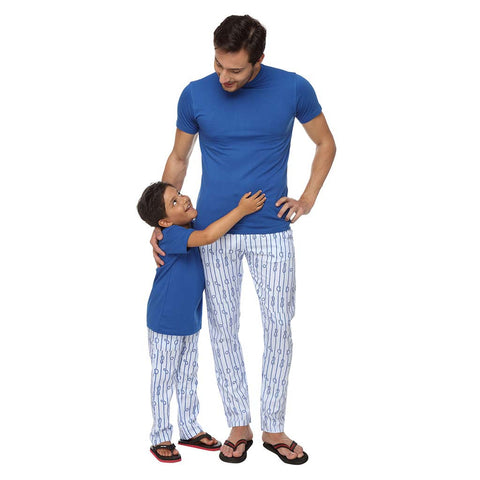 Knot Dad and Son Pyjamas