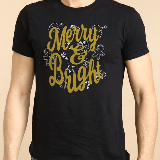 Merry And Bright Family Tees