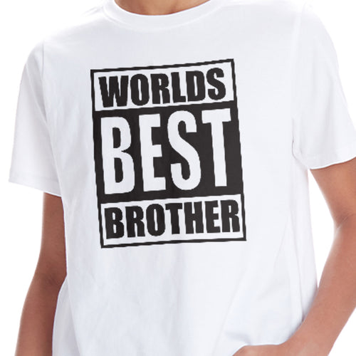 Worlds Best Brother & Sister Tees
