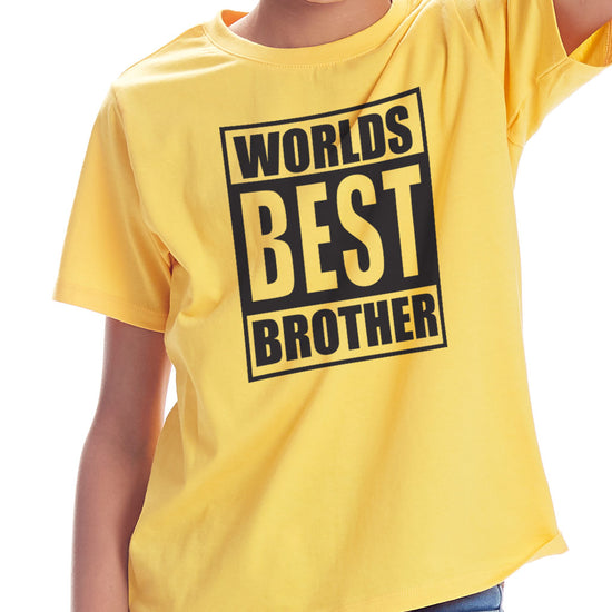 Worlds Best Brother Tees