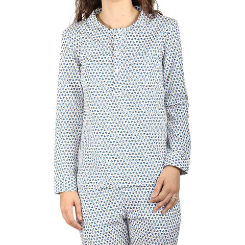 Floral Print Sleepwear Set For Mom & Daughter