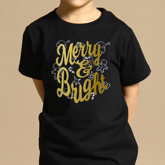 Merry And Bright Brother And Sister Tees