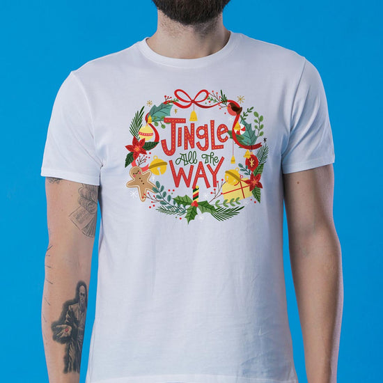 Jingle All The Way Dad And Son Tees
