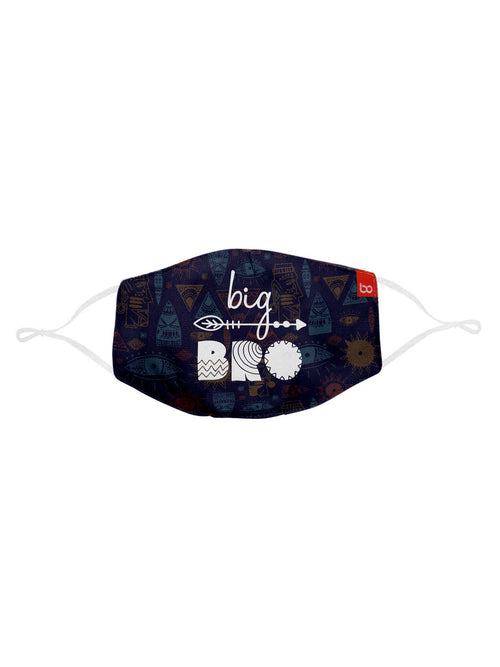 Big Bro & Lil Sis Matching Protective Mask For Siblings ( Set Of 2)