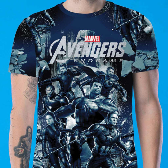 Avengers War, Matching Marvel Tees For Dad And Son