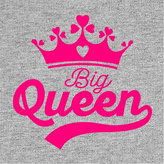 Big Queen Little Queen Mom & Daughter Bodysuit And Tees
